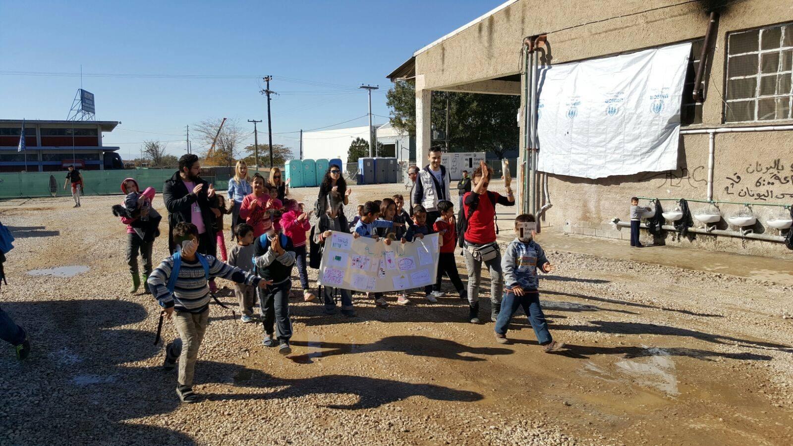Intervolve: Mια οργάνωση για τους πρόσφυγες που δεν προσφέρει μόνο ρούχα