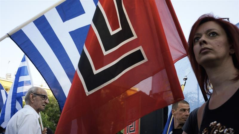 Neo-fascist Golden Dawn party crashes out of Greek parliament